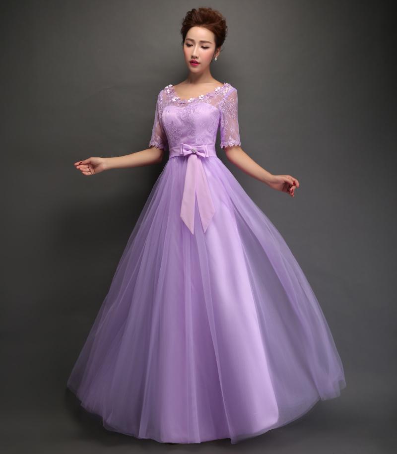 Purple Dresses Wedding Fashion Dresses