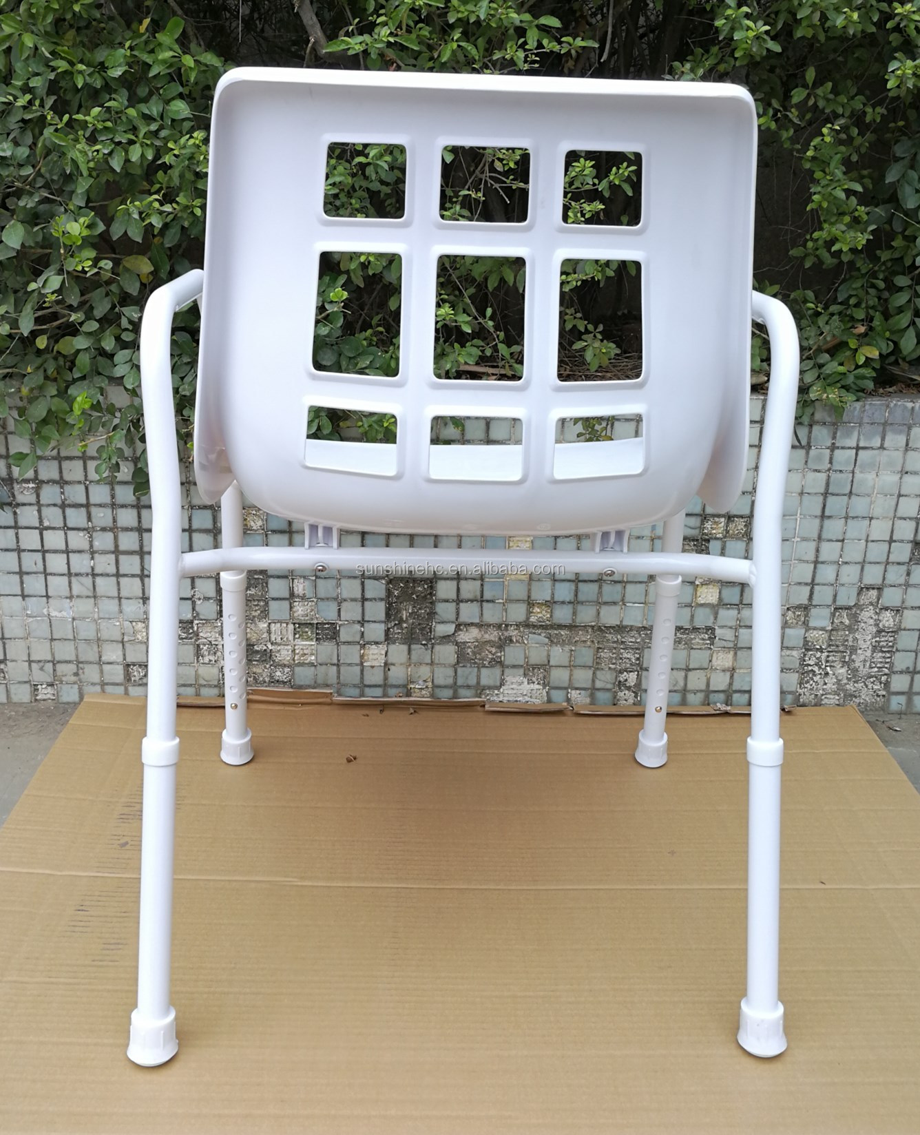 Wholesale Adjustable Shower Bench Plastic Bath Seat Shower Chair With Handles Ba313s Buy Shower Chair For Bathroom Safety Bath Seat With Handle For