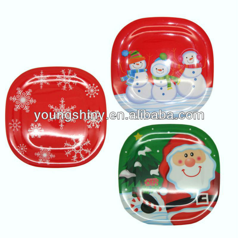 China Christmas Plastic Plates, China Christmas Plastic Plates ...