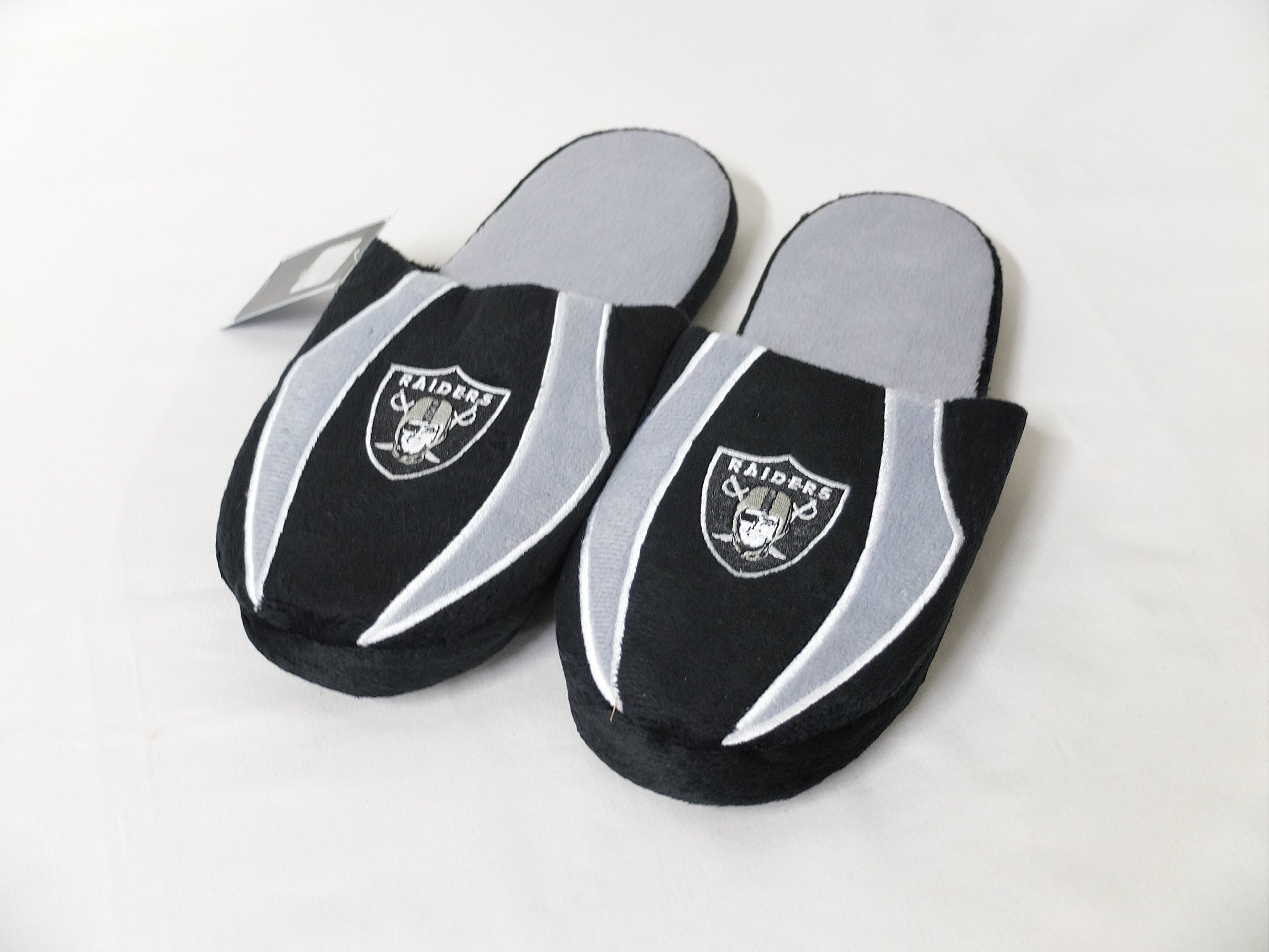 9a9246667aec Buy Oakland Raiders Mens NFL Sneaker Slippers in Cheap Price on ...