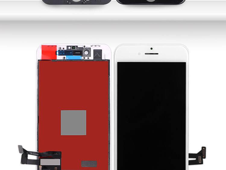 Gratis Pengiriman AAA + Layar LCD Touch Layar untuk Apple iPhone 8 Spare Parts, penggantian LCD Screen untuk iPhone 8 64 GB