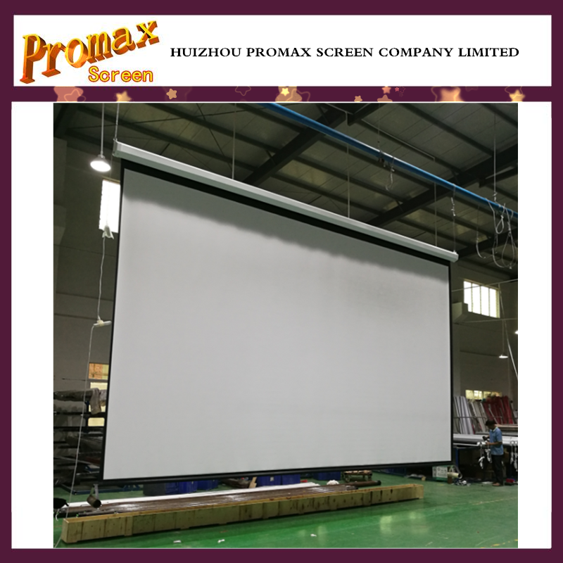 100 39 39 roll up tension screen motorized home theater for Motorized home theater screen