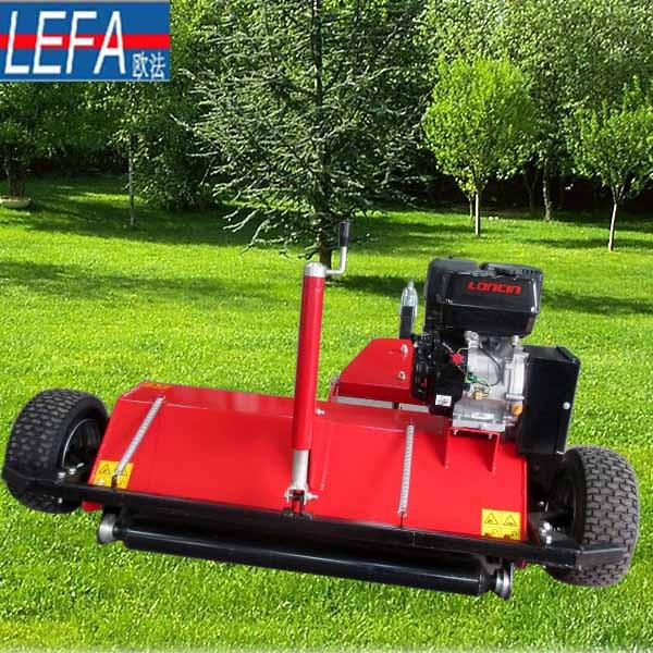 New Design Diesel Engine ATV120 Grass Mower Attachment