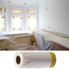 China Supplier Heatproof Heat Resistant No Residue Auto Paint Spray Masking Tape Plastic Film