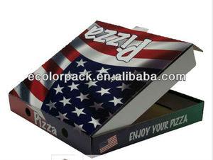 Special Design Pizza Boxes Wholesale Corrugated Pizza Box