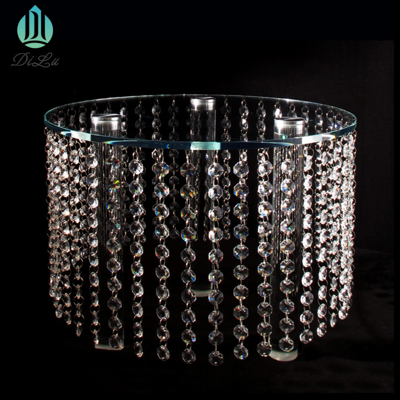 DL-RTS109 crystal chandelier Pendant Wedding Centerpieces Crystal Flower stand centerpieces for weddings