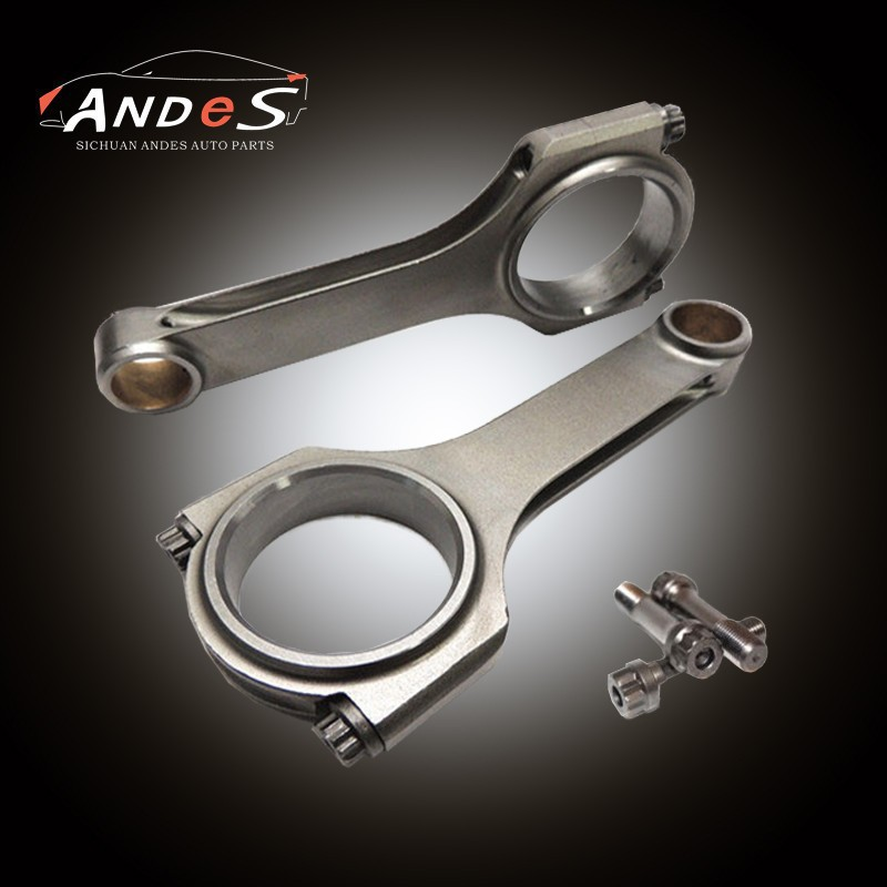 "Custom Forged Racing Connecting Rod for GM Chevy 350 SB 5.7"" 6.2"" Connecting Rod"