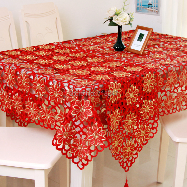 Embroidery Design Table Cloth