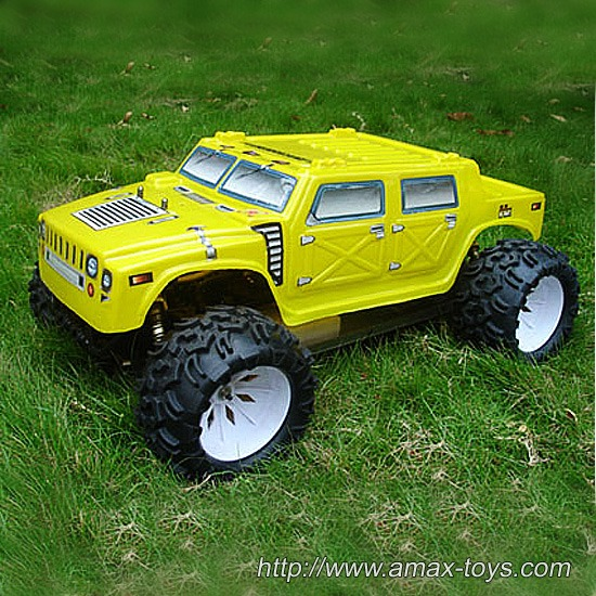 gt-rh503 1/5 Scale 4wd Gas Powered RTR Truck-Hurricane