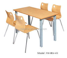 Modern wooden restaurant furniture pictures of dining table,FOH-XM24-438