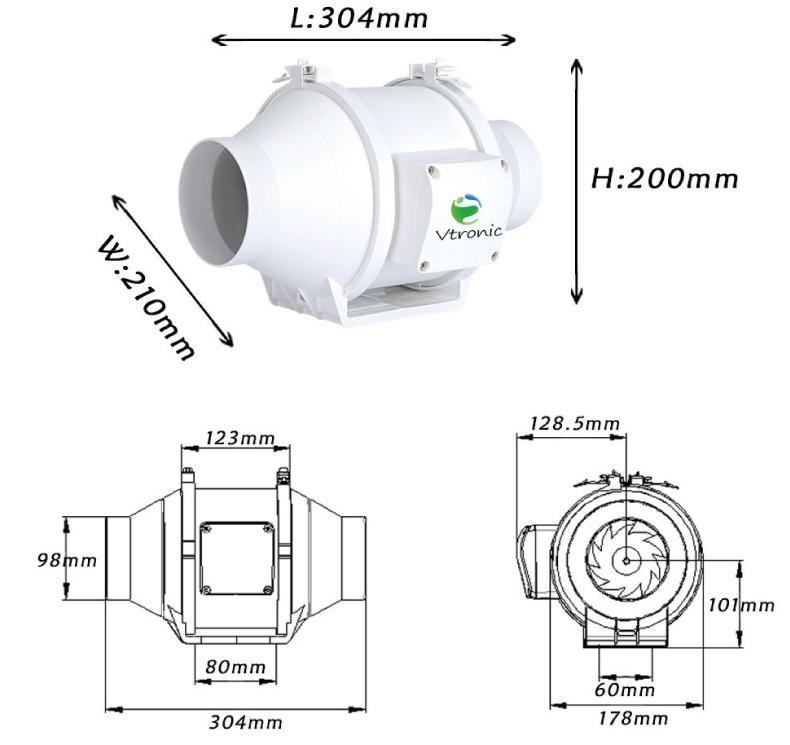 Wireless Controller Sirocco Mini Portable Kitchen/bathroom ...