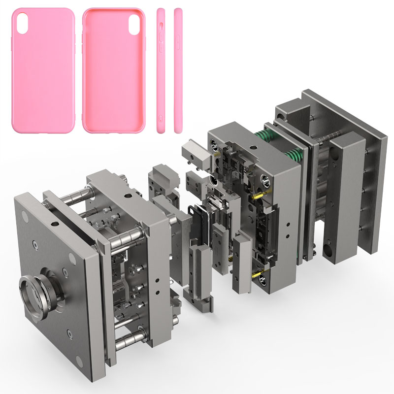 Professionelle Design Form Fabrik Passt High Precision Injection Mold für Handy Zubehör für iPhone 11 fall