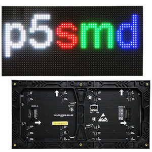 Indoor wall mount full color hub75 matrix p5 led display module with best  price