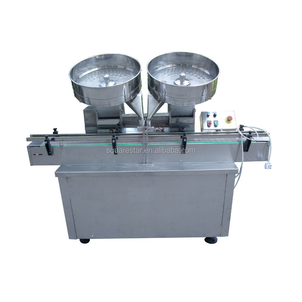 Automatic disc-type pill counting machine