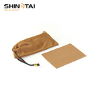 Shinetai 2019 New 100% Polyester Microfiber Eyewear Pouch Sunglass Bag With Drawstring