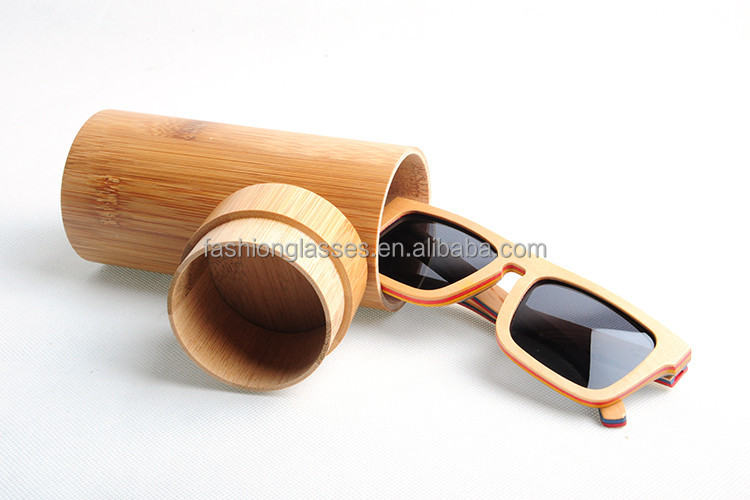China Sunglasses Factory Cat 3 Uv400 Sunglasses With Bamboo Cases ...