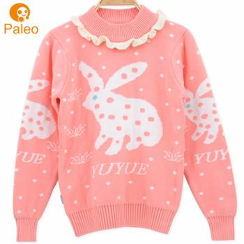 Oem Odm фабрика дети вязание рождественский свитер вышивка крестом