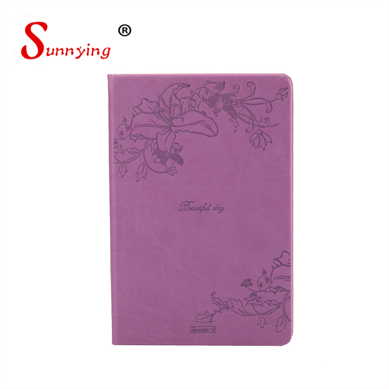 2017 New Simple Design Custom Brand Name Notebook With Low Price