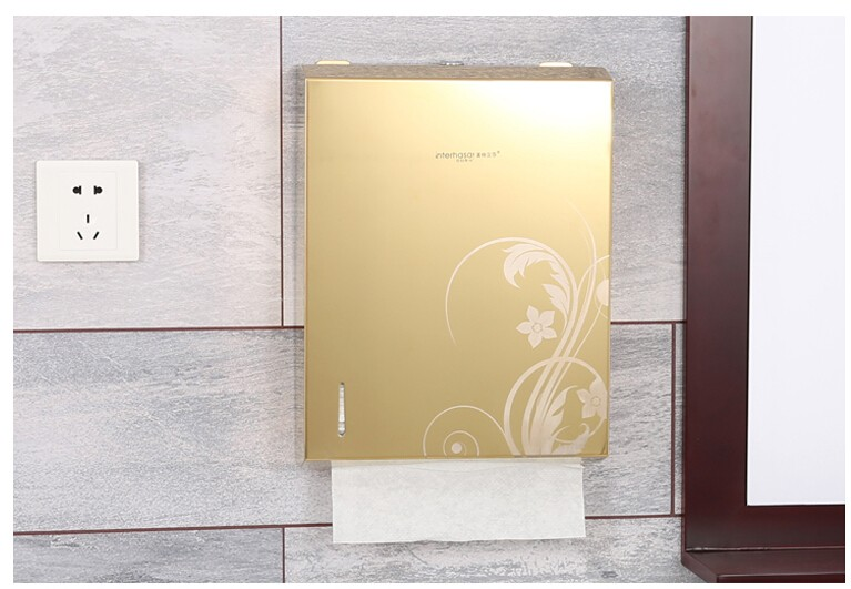 High quality automatic paper towel holder dispenser