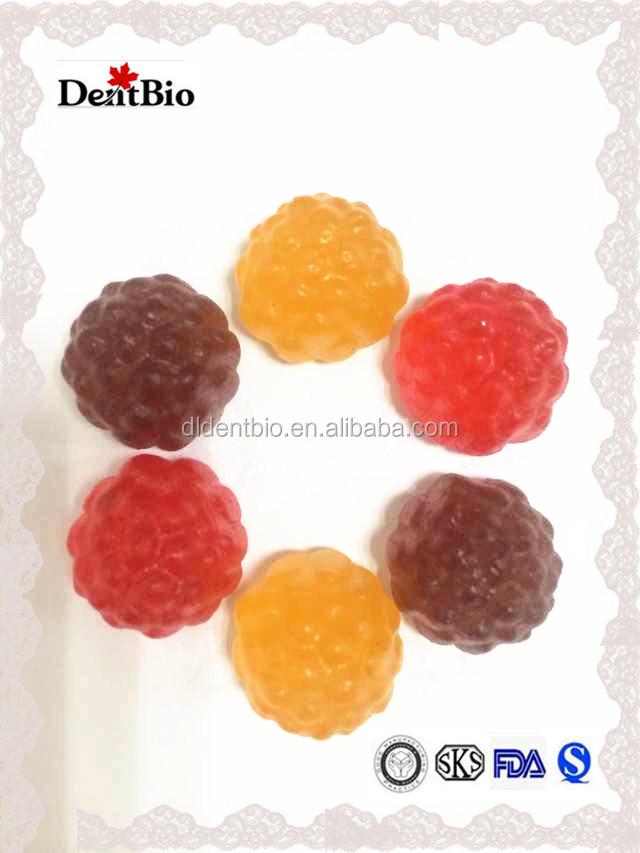 Fancy Sweet Fruit Gummy Jelly Candy