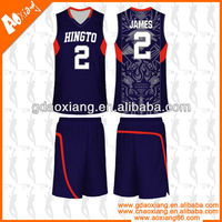 Hot selling Cool-max Basketball jersey