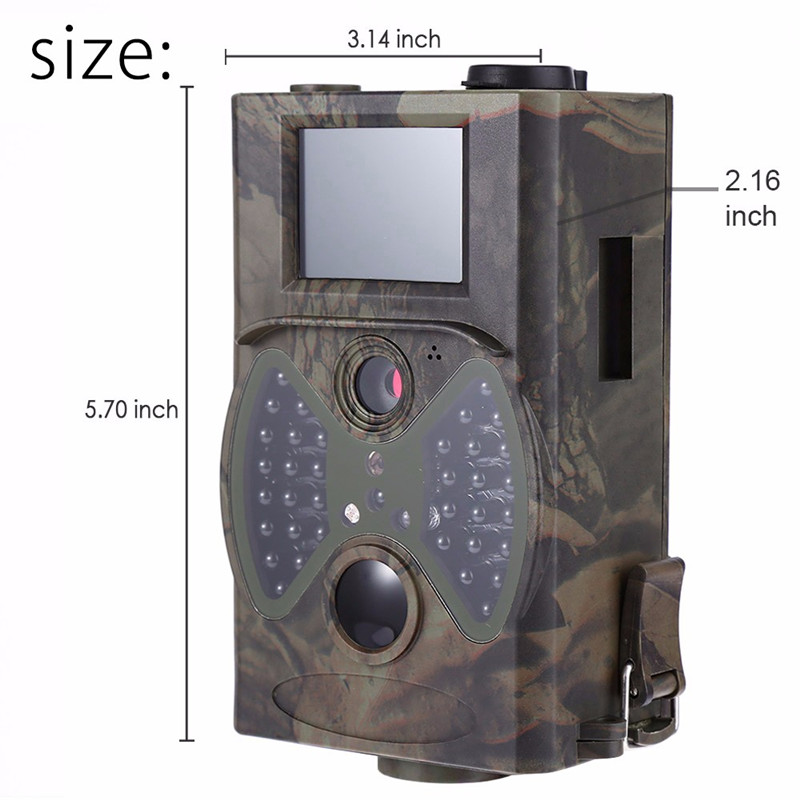 12MP Wildlife Trail Cameras Scouting Digital Camera Infrared Trail Hunting HC - 300A Trap Game Wildlife Hunting Camera