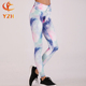 wholesale ODM OEM activewear design your own printing yoga pants compression women printed leggings