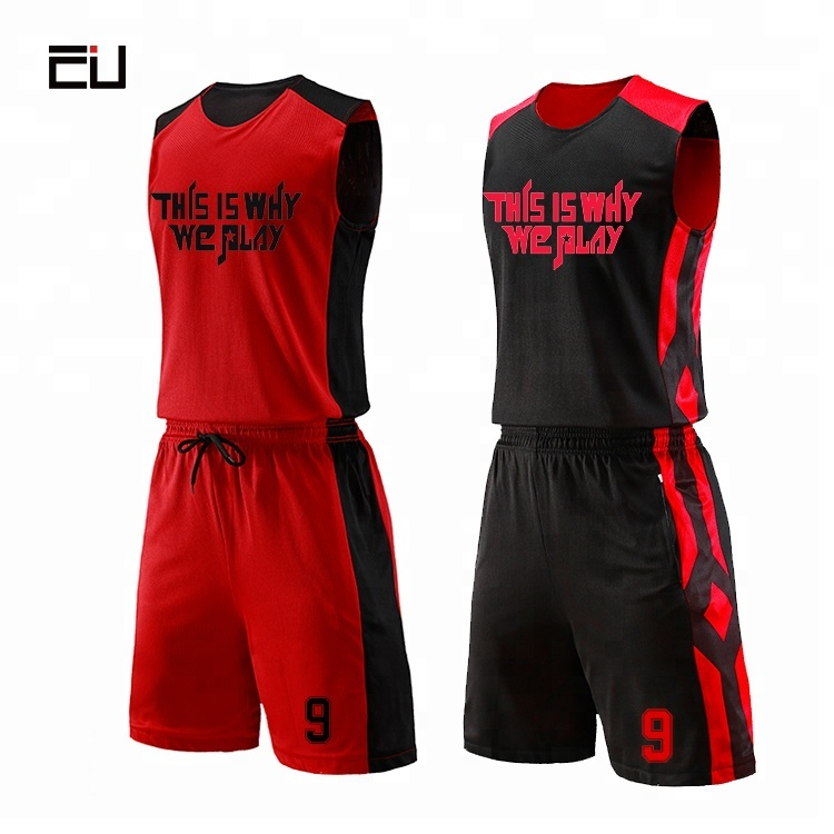 0f1125b83b6f OEM Custom China Wholesale Basketball Jerseys Custom Reversible Basketball  Uniforms for Men