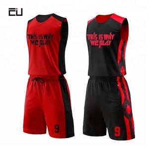 26b50c3f655 OEM Custom China Wholesale Basketball Jerseys Custom Reversible Basketball  Uniforms for Men