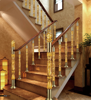 Acrylic Curtain Rod  Spiral Staircase Handrail Supplier