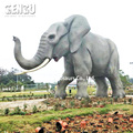 Life size robotic animal elephant