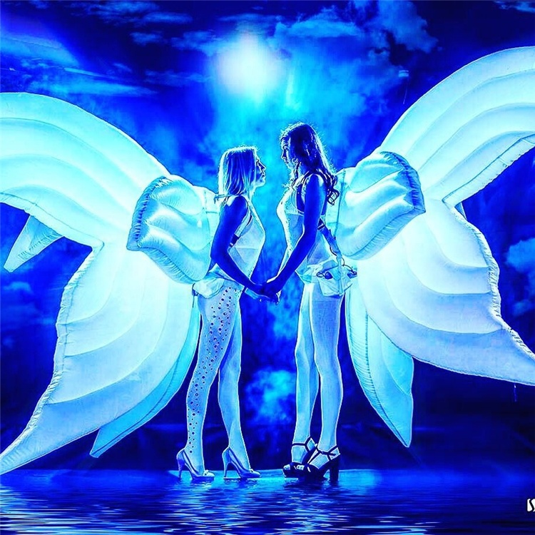 inflatable led light inflatable butterfly wings, inflatable butterfly costume