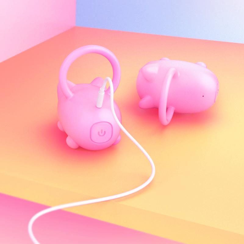 2019 High quality hot sale mini pig shape Penis Rings vibrating Sex Toy Men Cock rings Penis Rings vibrator