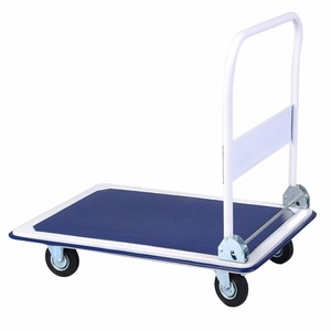 300kg load capacity workshop collapsible tool platform hand truck trolley