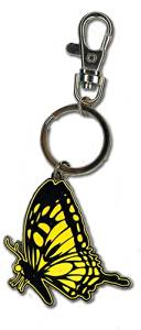 Great Eastern Entertainment Blast Of Tempest Monarch Butterfly Metal Keychain