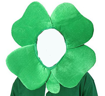 St Patricks Day Shamrock Novelty 4 Leaf Irish Clover Hat With Hood Buy 4 Leaf Clover Hat 4 Leaves Clover Hat Clover Hat Product On Alibaba Com