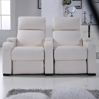 2 Seats Electric Leather Sofa Recliner