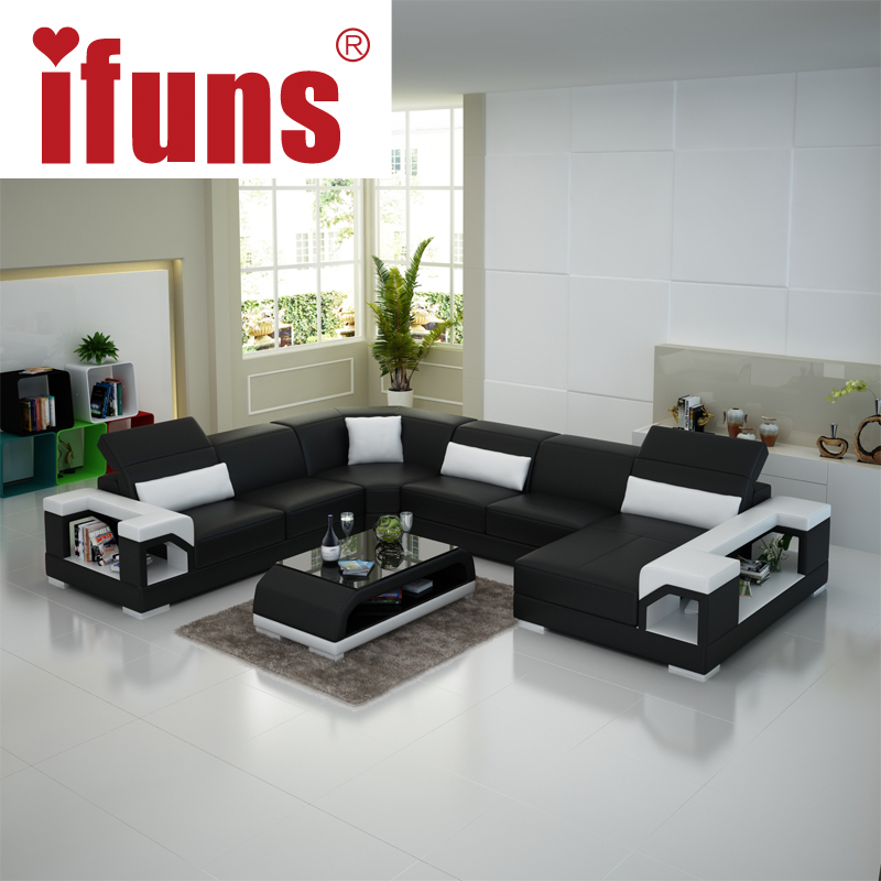 Cheap U Shaped Sofa Low Cost Modern Corner Leather Sofa: Preis Auf Couch Sectional Vergleichen