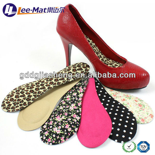 Hot Sale 3/4 EVA Foam Foot beds for lady High Heel, Super Comfortable Anti-slip Shoe Accessories