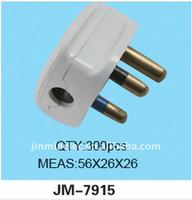 2016 porous 3 pins desk plug socket diesel glow pipe test plug JM-7915