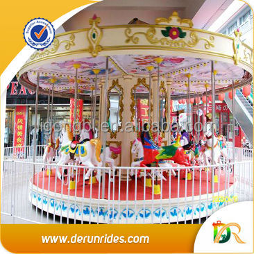 Attraction park games fairground rides 2013 new products carousel horse