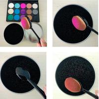 Makeup Cleaner Sponge,Makeup Brush Eyeshadow Sponge Cleaner,New Design Makeup Brushes Cleaner Tools