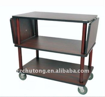 Hotel Guest Room Multipurpose Service Dining Cart