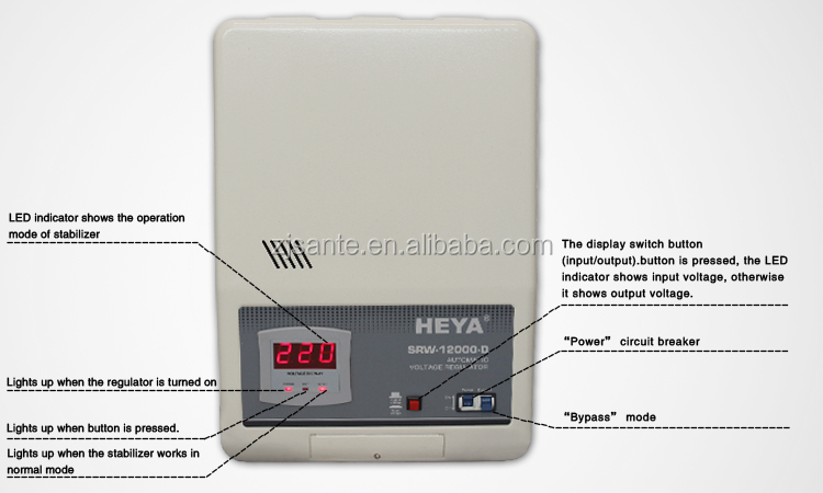 refrigerator voltage stabilizer