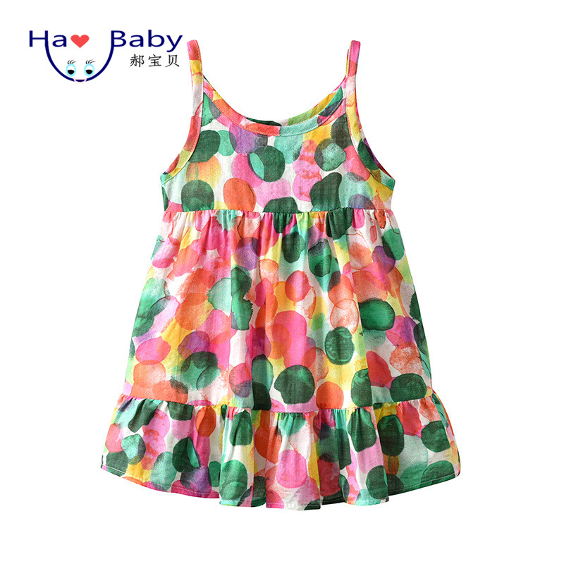 Hao Baby 2019 New Children's Wear Korean Summer <strong>Kids</strong> Skirt <strong>Fashionable</strong> Skirt