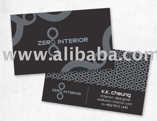 Cero tarjeta de negocio de dise o de interiores empresa de - Empresa diseno de interiores ...