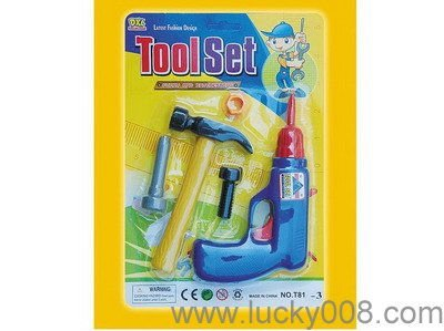 Plastic Simulation toy tools for children playing with EN71