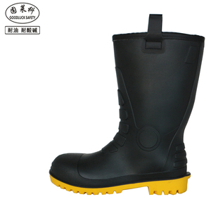 Oil Resistant Steel Toe PVC Plastic Work Boots