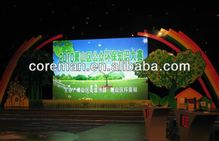 DJ booth HD video led screen panel p2 / USA market led board p6 / p6 outdoor led flexible curtain