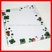 Color printed letter paper